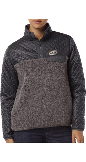 Patagonia W's Mixed Snap-T Pullover Forge Grey